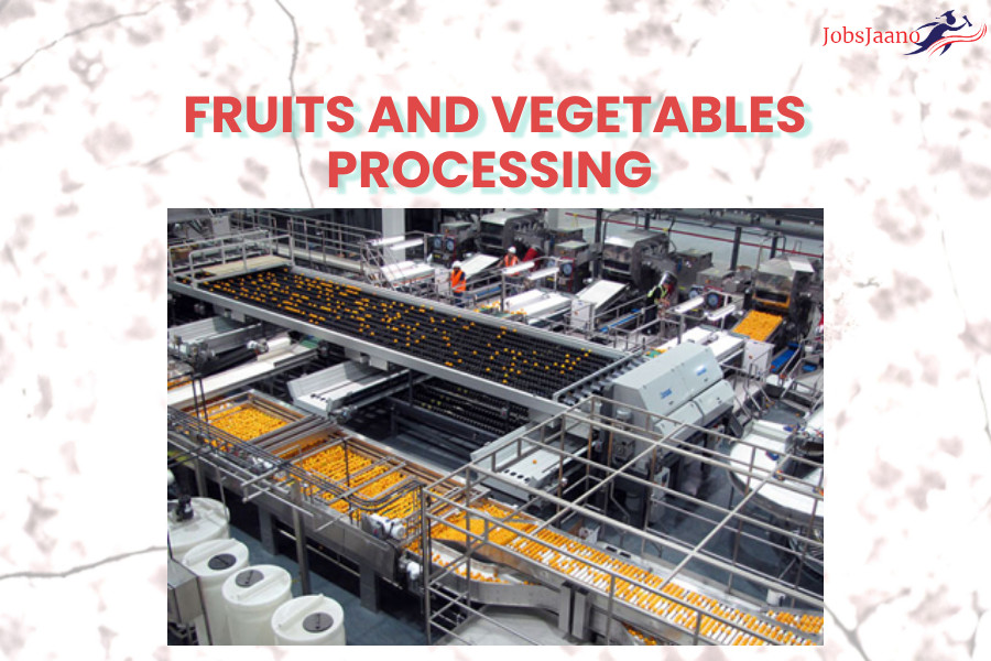 Multiple Choice Questions on Food Processing   FRUITS AND VEGETABLES PROCESSING