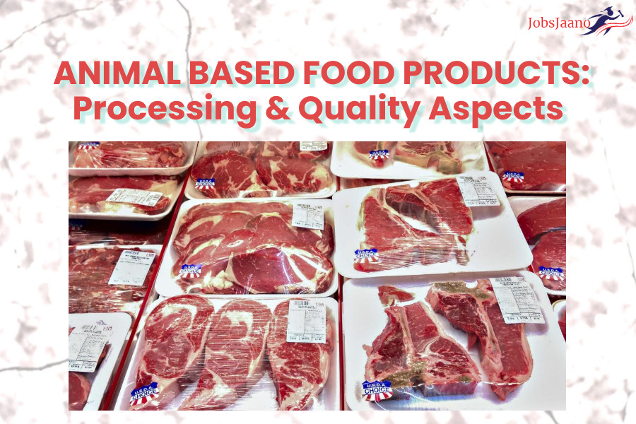 Multiple Choice Questions on Sources of Food ANIMAL BASED FOOD PRODUCTS Processing & Quality Aspects